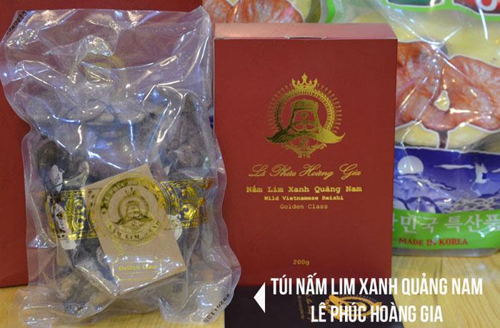 Nấm Lim xanh Quảng Nam Lê Phúc Hoàng Gia 200g L303 4