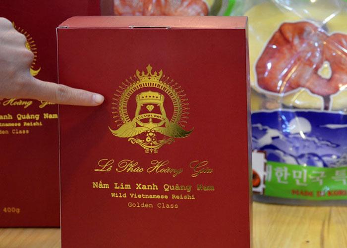Nấm Lim xanh Quảng Nam Lê Phúc Hoàng Gia 200g L303 6