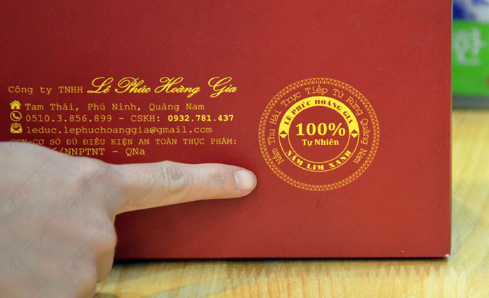 Nấm Lim xanh Quảng Nam Lê Phúc Hoàng Gia 200g L303 8