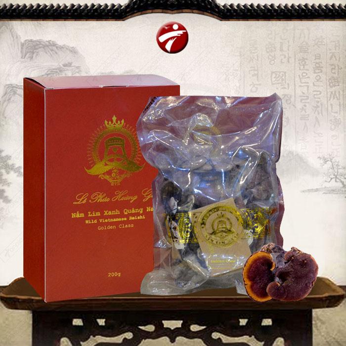 Nấm Lim xanh Quảng Nam Lê Phúc Hoàng Gia 200g L303