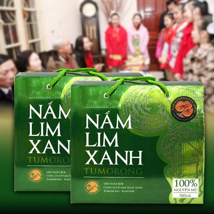 Nấm lim xanh Tumorong Kon Tum nguyên tai cao cấp L300 1