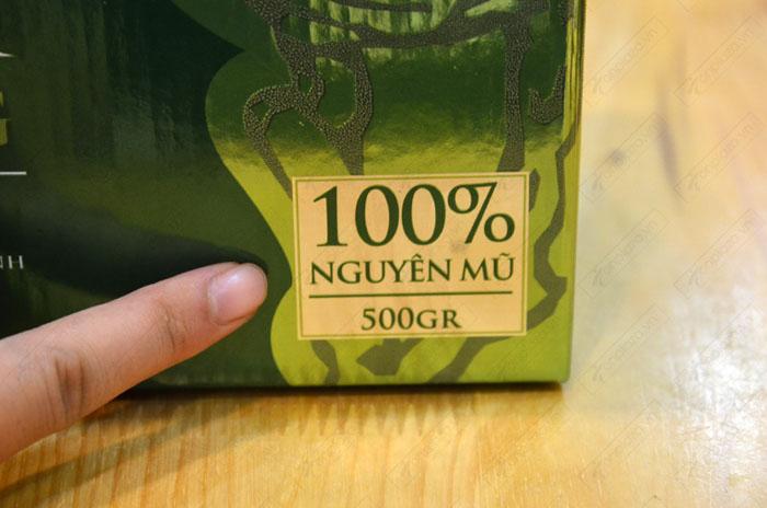 Nấm lim xanh Tumorong Kon Tum nguyên tai cao cấp L300 8