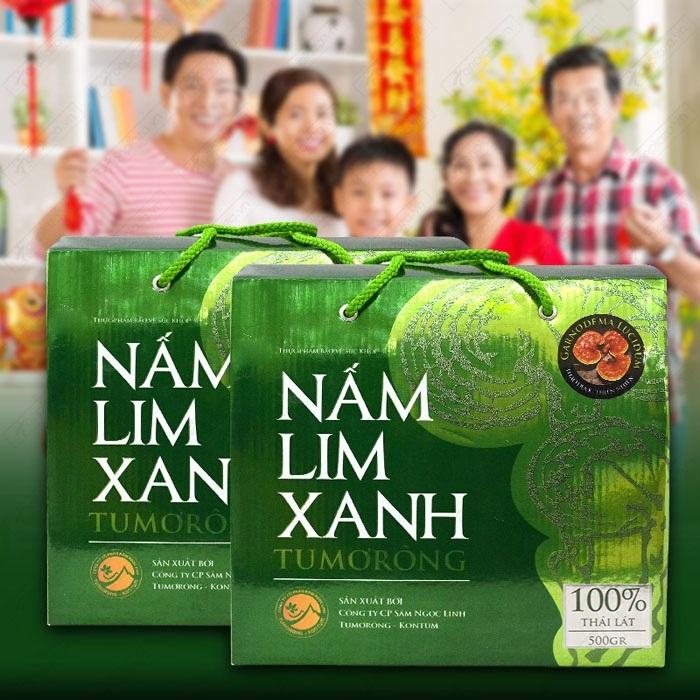 Nấm lim xanh Tumorong KonTum thái lát chất lượng cao L301 1