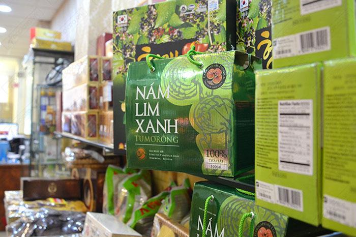 Nấm lim xanh Tumorong KonTum thái lát chất lượng cao L301 10