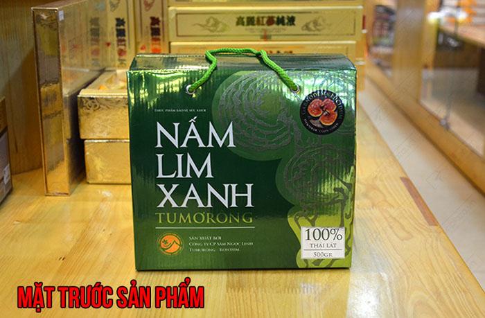 Nấm lim xanh Tumorong KonTum thái lát chất lượng cao L301 2