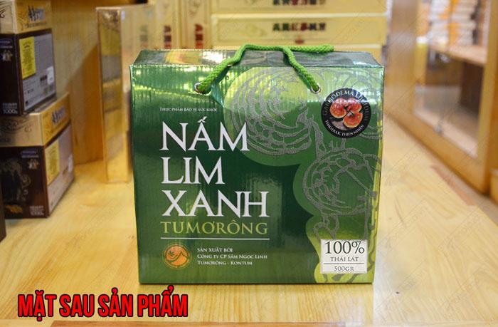 Nấm lim xanh Tumorong KonTum thái lát chất lượng cao L301 3