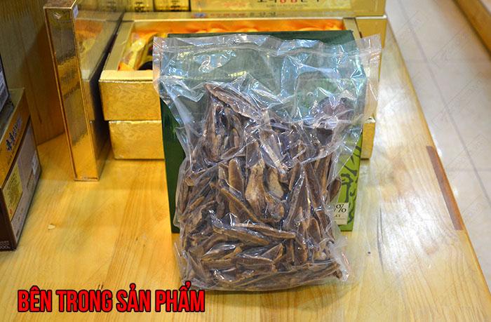 Nấm lim xanh Tumorong KonTum thái lát chất lượng cao L301 9