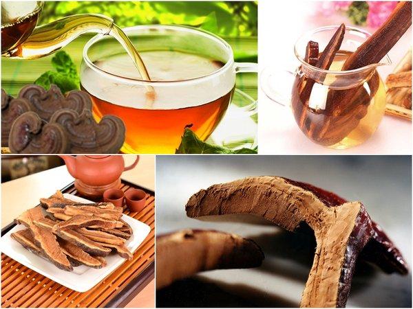 Sắc nước và pha trà nấm linh chi là 2 cách chế biến phổ biến