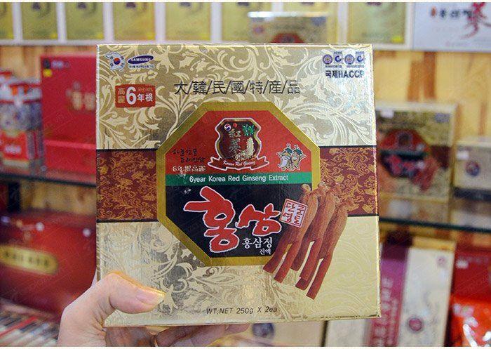 Cao hồng sâm 6 năm tuổi Hàn Quốc NS035 10