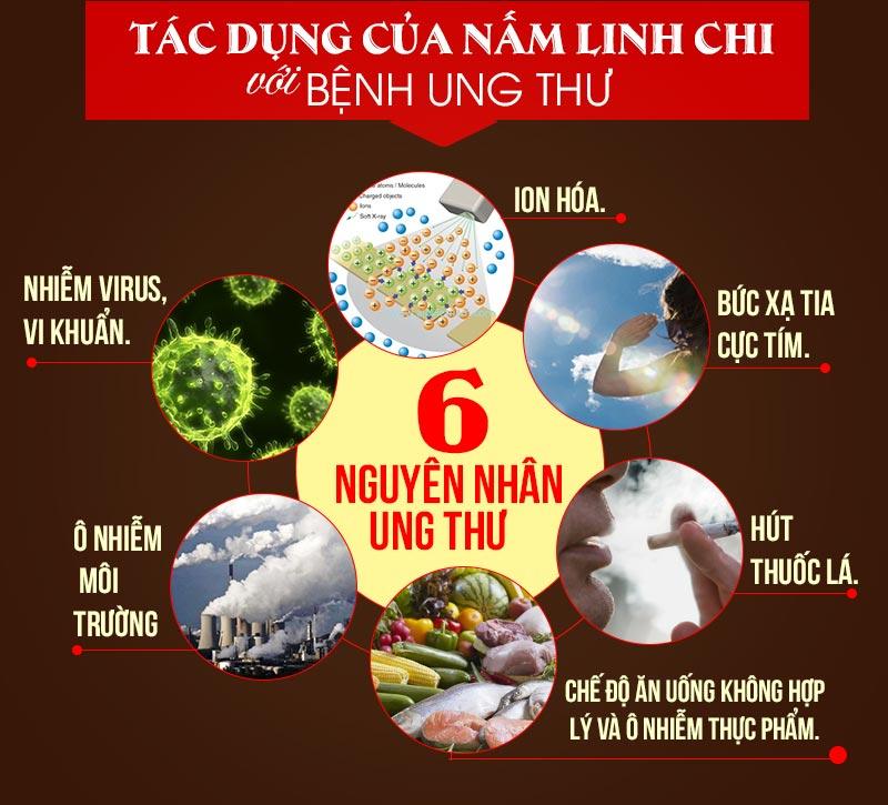 Sáu nguyên nhân dẫn đến con người dễ mắc ung thư
