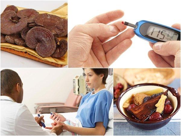 Bệnh nhân tiểu đường sử dụng nấm linh chi rất tốt