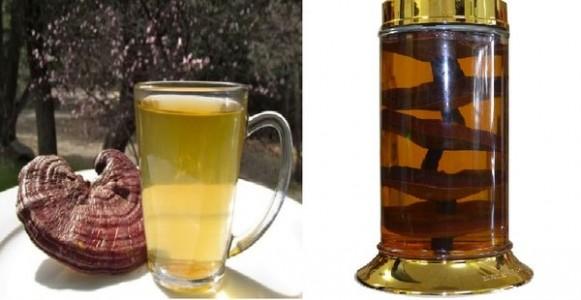 Có thể nấu nước hoặc ngâm rượu linh chi để uống