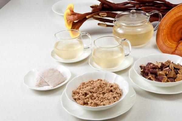 Uống trà linh chi hàng ngày để có sức khỏe tốt
