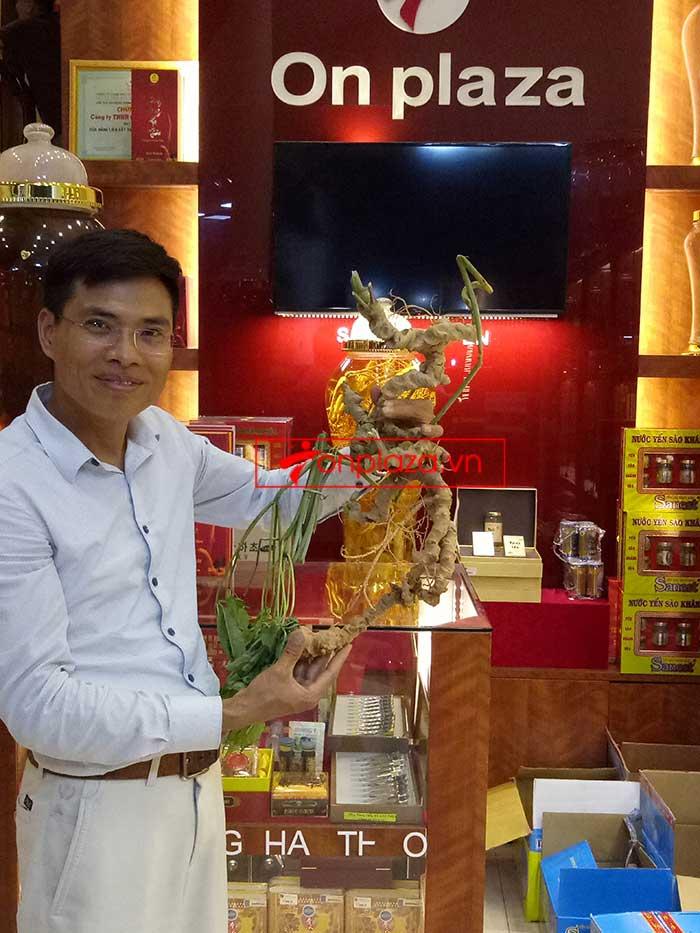 Bình ngâm sâm Ngọc Linh tươi 100 năm tuổi loại 1,5kg/củ 2