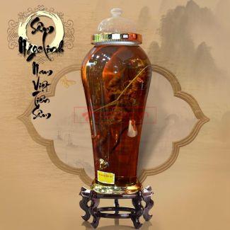 Bình ngâm sâm Ngọc Linh tươi loại 1,5kg/củ