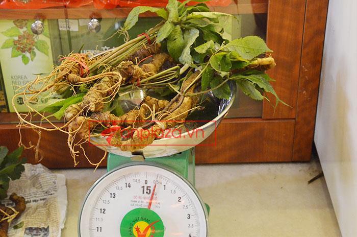 Sâm Ngọc Linh tươi tự nhiên loại 5 củ/1kg 9