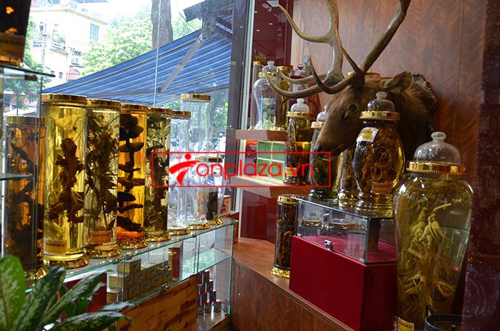 hình ảnh trưng bày các sản phẩm sâm ngọc linh khác tại cửa hàng 3