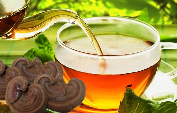 Uống nước nấm linh chi cải thiện vóc dáng