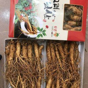 Nhân sâm Hàn Quốc loại 12 củ/kg NS008 4