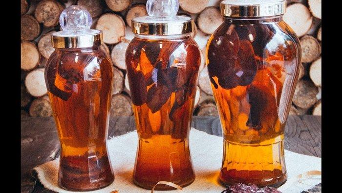 Linh chi đỏ Nhật Bản ngâm rượu