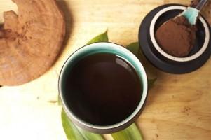 Linh chi, hoàng kỳ tán bột hãm trà