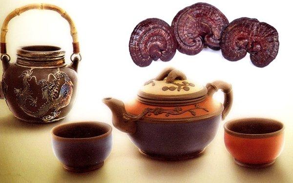 Nấu nước linh chi kiểu truyền thống