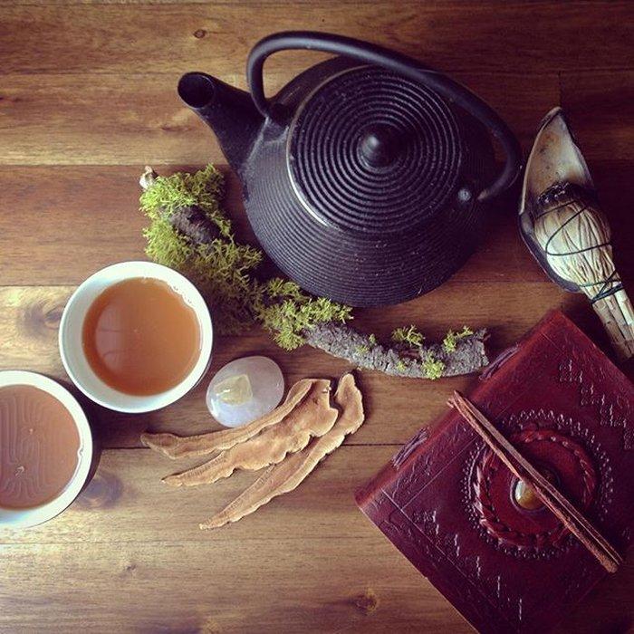 Sử dụng ấm gì để sắc nước nấm linh chi