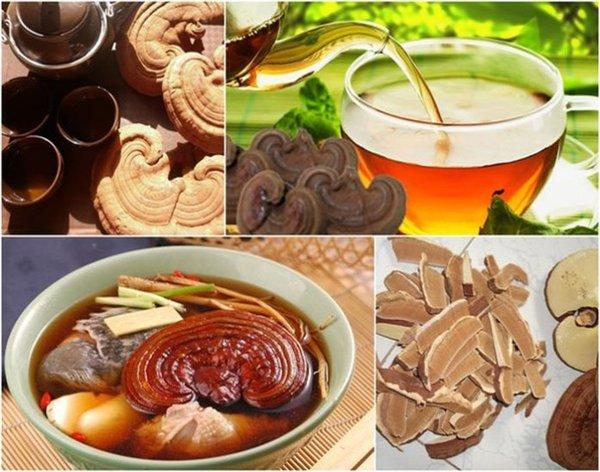 Nấm linh chi khô có nhiều cách chế biến khác nhau