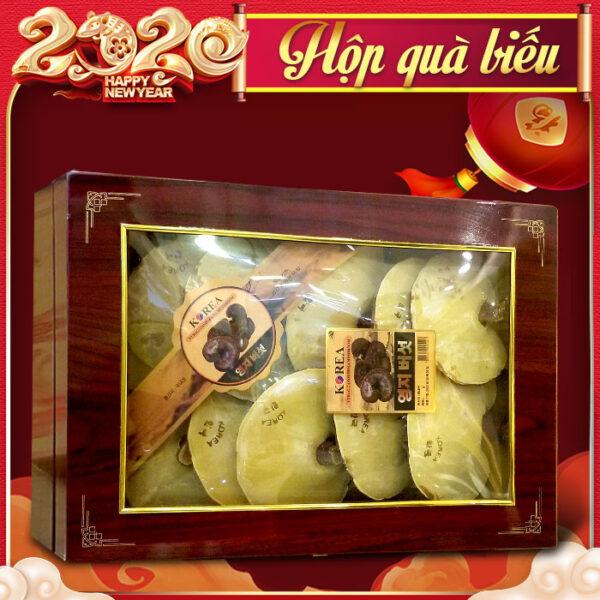 Nấm linh chi đỏ thượng hạng hộp quà biếu (1kg/ hộp ) L047