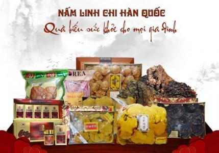 Chọn sản phẩm quà biếu nấm linh chi