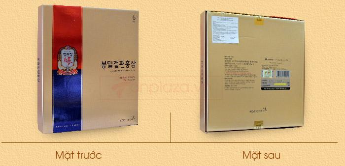 Hồng sâm tẩm mật ong cao cấp chính phủ KGC hộp 240g NS453 3