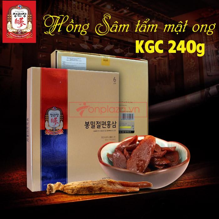 Hồng sâm tẩm mật ong cao cấp chính phủ KGC hộp 240g NS453 7