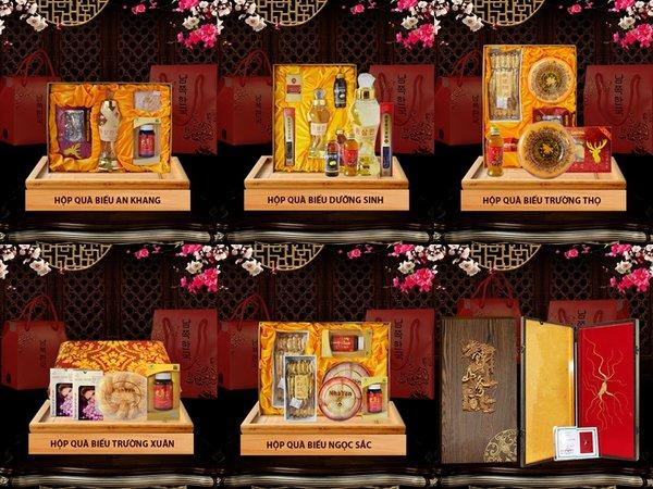 Quà biếu tết được phân phối tại https://nhansamlinhchi.net.vn