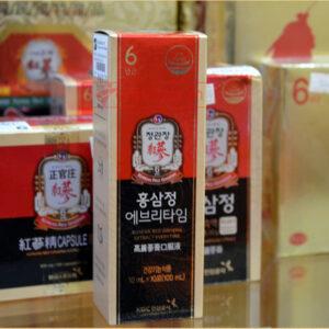 Tinh chất hồng sâm cao cấp chính phủ KGC hộp 10 gói NS454 7
