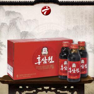 Nước uống cao cấp tăng lựchồng sâm Chính Phủ KGC (Cheong Kwan Jang ) loại hộp 10 chai NS646