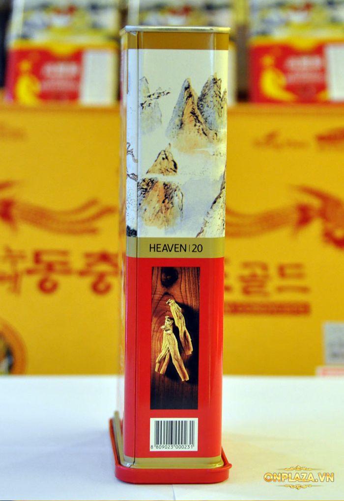 Thiên Sâm củ khô 6 năm tuổi cao cấp Chính Phủ KGC (Cheong Kwan Jang) hộp thiếc 150g số 20 NS673 12