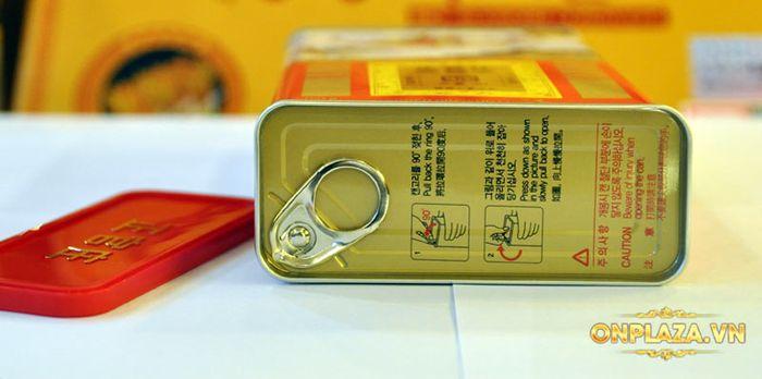 Thiên Sâm củ khô 6 năm tuổi cao cấp Chính Phủ KGC (Cheong Kwan Jang) hộp thiếc 150g số 20 NS673 13