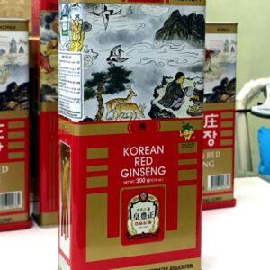 Hồng sâm củ khô Punggi Hàn Quốc hộp thiếc 150g NS613 7