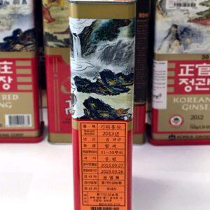 Hồng sâm củ khô Punggi Hàn Quốc hộp thiếc 150g NS613 8