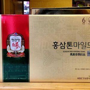 Nước uống hồng sâm trẻ em dạng gói cao cấp Chính Phủ KGC NS635 5