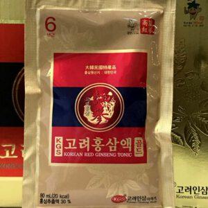 tinh chất hồng sâm Hàn Quốc cao cấp 6 năm tuổi NS052 11