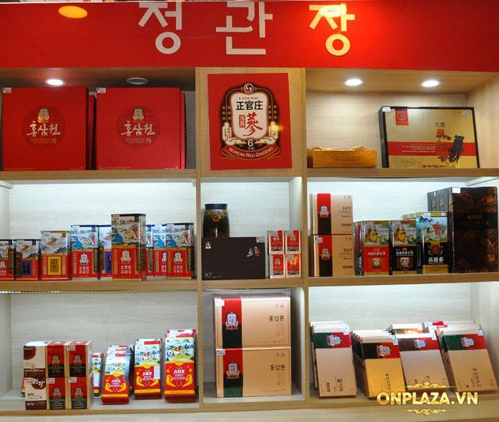 Hồng Sâm Củ Khô Cao Cấp Chính Phủ (Cheong Kwan Jang) KGC Hộp Thiếc 600g (28 củ) Số 20 NS745 16