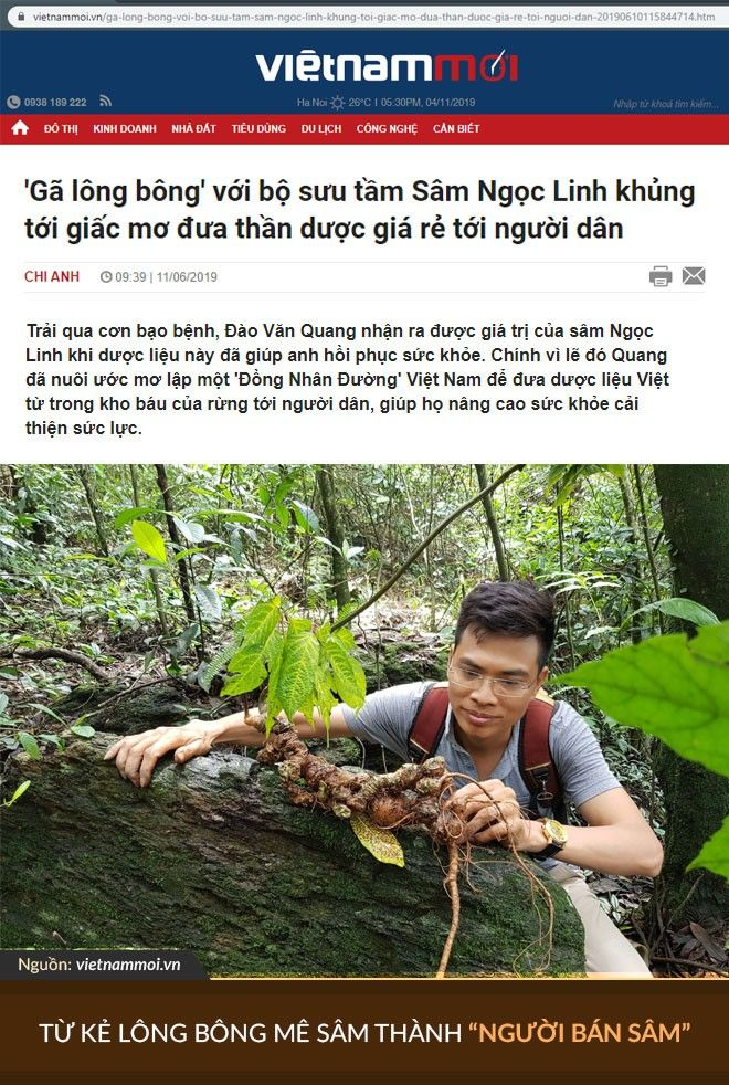 Báo Việt Nam mới có bài viết chân dung nói riêng về anh