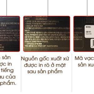Nước hắc sâm Hàn Quốc Daedong bổ dưỡng hộp 20ml * 30 gói NS091 6