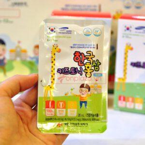 Nước hồng sâm trẻ em Baby Tonic Step cao cấp KGC Cheong Kwan Jang cho bé từ 8-10 tuổi NS677 9