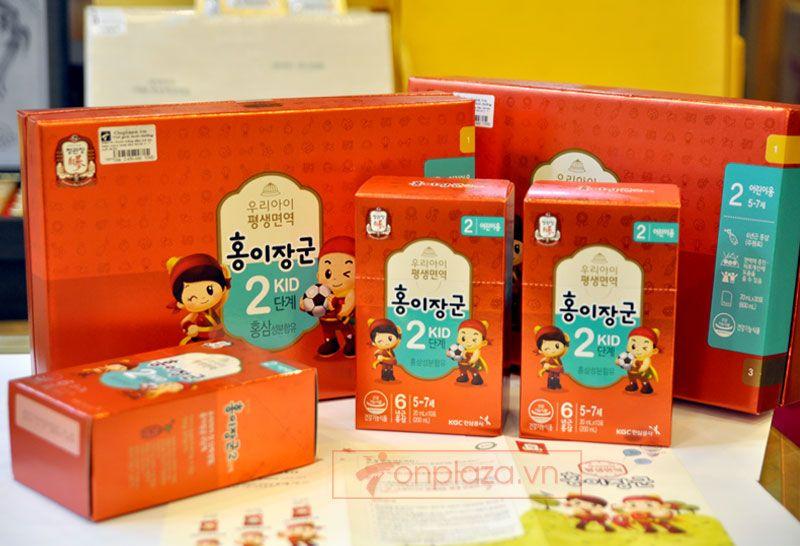 Nước hồng sâm trẻ em cao cấp Baby Tonic Step cho bé KGC 5-7 tuổi NS676 1