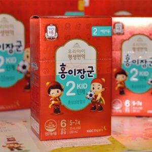 Nước hồng sâm trẻ em cao cấp Baby Tonic Step cho bé KGC 5-7 tuổi NS676 6