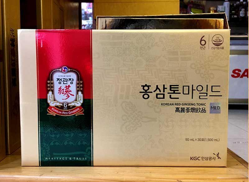 Nước hồng sâm trẻ em cao cấp Chính Phủ KGC (Cheong Kwan Jang) Tonic Mild hộp 30 gói NS635 5