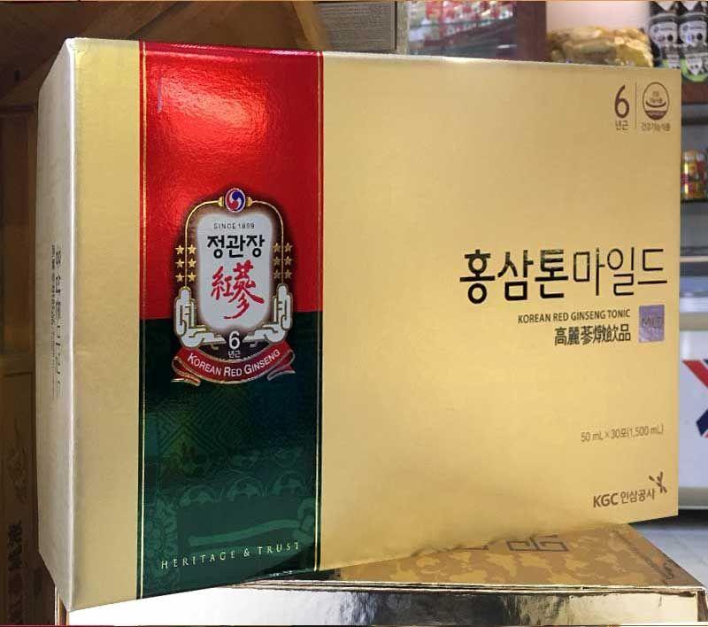 Nước hồng sâm trẻ em cao cấp Chính Phủ KGC (Cheong Kwan Jang) Tonic Mild hộp 30 gói NS635 6