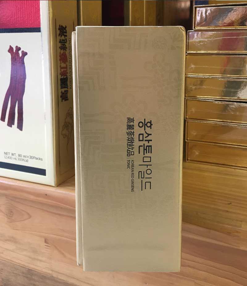 Nước hồng sâm trẻ em cao cấp Chính Phủ KGC (Cheong Kwan Jang) Tonic Mild hộp 30 gói NS635 7